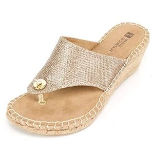 White Mountain Beachball Open Espadrille Sandals